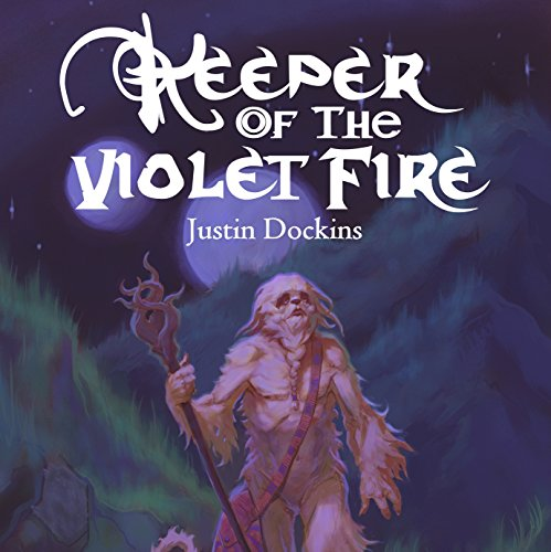 Keeper of the Violet Fire audiobook cover art