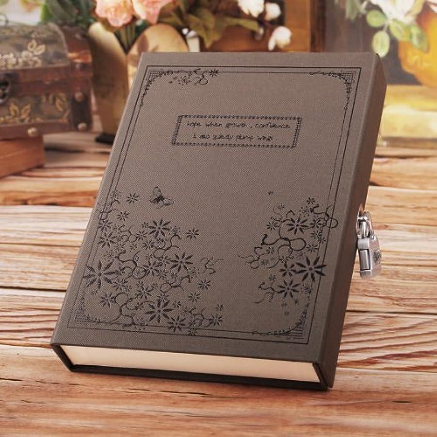 提供無意識ばかげたMyoffice 中世 ヨーロッパ 貴族風 鍵 付き 専用 ケース入り 日記帳 ダイヤリー ノート