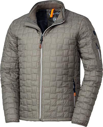 LERROS Herren Steppjacke, wetterfeste Jacke für Männer, Outdoor-Kleidung mit Wattierung, warmes Innenfutter, Stehkragen & Reißverschluss, in Sand