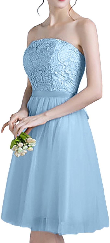 Avril Dress Elegant Bridesmaid Starpless Lace Honecoming ALine Dress New