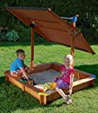 GASPO Arenero Infantil con tejado Regulable Mickey II