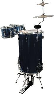 GP Percussion GP75MB Cocktail Drum Set (Midnight Blue)