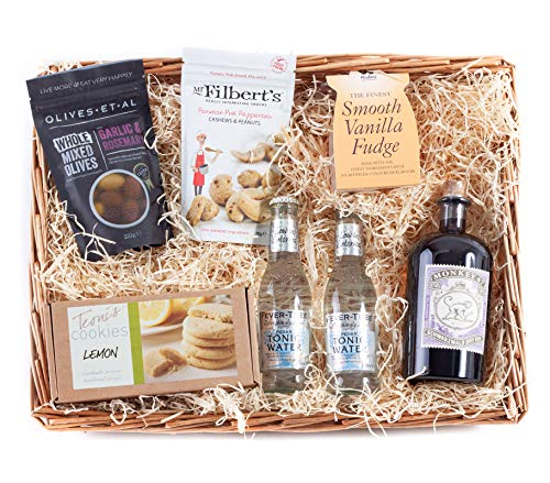 Wickers Gift Baskets | Gin-Korb mit Affe 47 Gin