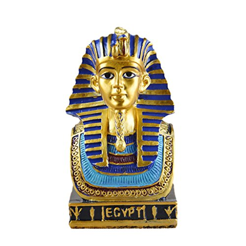 Fenteer Resina Mini Egipto Egipcio Antiguo Estatua Escultura Hecha A Mano Figuras...