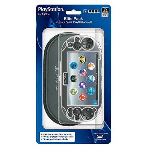 HORI Elite Pack Protective Starter Kit for PlayStation Vita 2000 (Renewed)