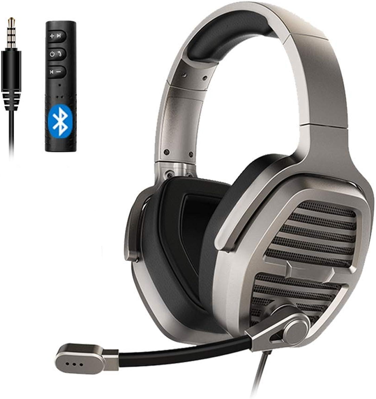 ventas en linea TINGYIN Gaming Headset Headset 3.5mm Teléfono móvil móvil móvil Universal, 5.0 azultooth 10m Transmisión - Titanium oro  la calidad primero los consumidores primero