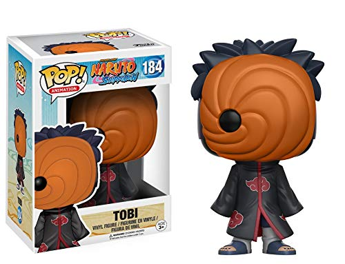 Funko- Tobi Figura de Vinilo, colección de Pop, seria Naruto Shippude
