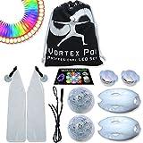 UltraPoi – Vortex Poi w/ UltraKnobs - LED Poi Set - Best Light Up...