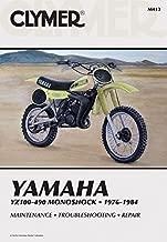 Clymer Yamaha YZ100-490 Monoshock, 1976-1984: Service, Repair, Maintenance