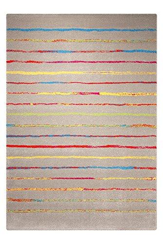 ESPRIT Joyful Stripes grau Kinderteppich ESP-8023-11, Größe:80 * 150cm