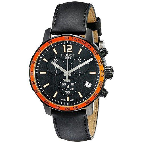 Tissot Orologio Cronografo Quarzo Uomo con Cinturino in Pelle T095.417.36.057.01