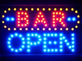 Lampe Neon ENSEIGNE Lumineuse LED led072-b Bar Open LED Neon Sign...