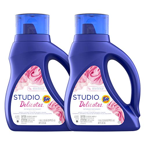 Tide Studio Liquid Laundry Detergent,40 Fl Oz,Pack of 2