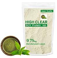 HIGH CLEAR 国産ソイプロテイン 有機抹茶味 750g(約30食分)