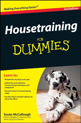 Mccullough, S: Housetraining For Dummies (For Dummies Series)