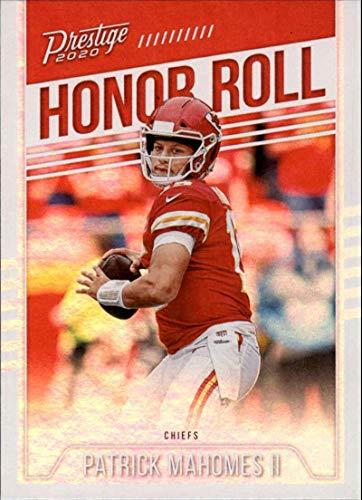 2020 Prestige NFL Honor Roll #10 Patrick Mahomes II Kansas City Chiefs Official Panini Football Trading Card