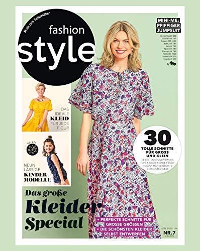 fashion style Nähmagazin: Ausgabe 07/2020, Schnittmuster ideal geeignet für Anfänger und Näherfahrene