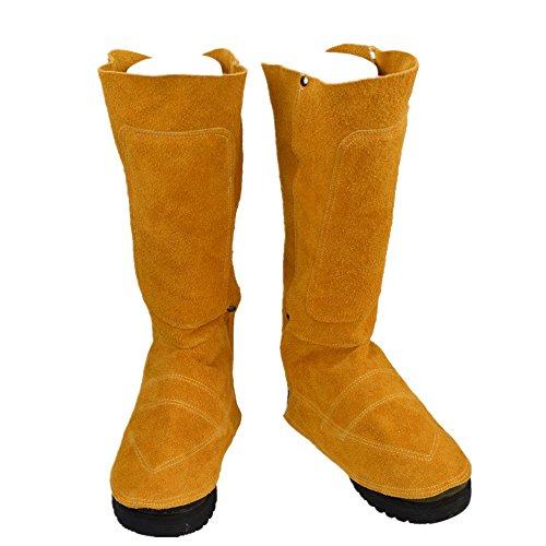 溶接用 足カバー 靴カバー エプロン 耐熱 防炎