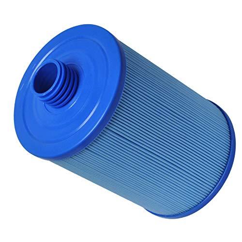 LZH FILTER Filtro Antibacteriano para Piscina, 243 Mm X 150 Mm, Adecuado para La Mayoría de Los Modelos de SPA con Jacuzzi, Antibacteriano Azul