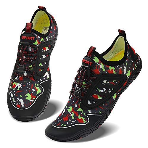 JointlyCreating Water Shoes Barefoot Aqua Yoga Socks Quick-Dry Beach Swim Surf Shoes for Women Men