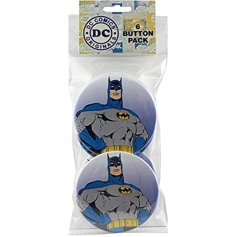 Button set DC Comics Batman Close-Up Round 6 Individual Loose Buttons, 3