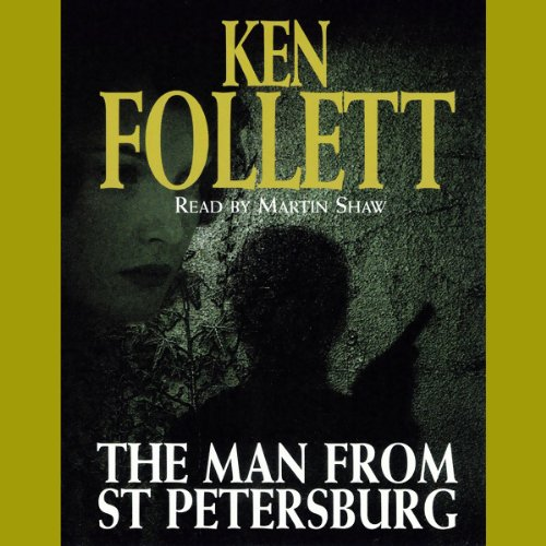 The Man from St. Petersburg audiobook cover art