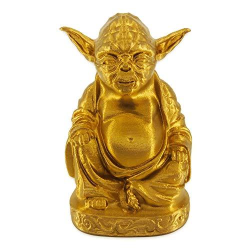 muckychris Yoda Buddha | Star Wars | Brilliant Gold 9'