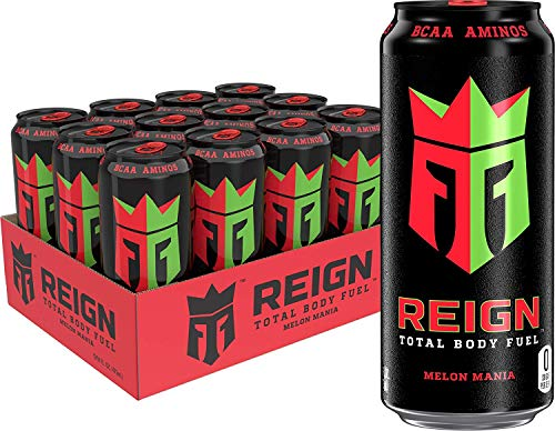 Reign Energy Drink by Monster Energy Drinks Amazing Discounted Price 12 Packs Available in All Flavours Fast DELIvery 500ml Melon Mania Flavour