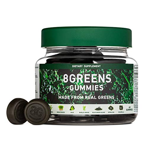 8Greens Gummies Dietary Supplement for Adults and Kids (60 Count)