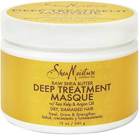 Sheamoisture Deep Treatment Masque for Dry Damaged or Transitioning Hair Raw Shea Butter with product image