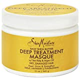 Sheamoisture Deep Treatment Masque for Dry, Damaged or Transitioning Hair Raw Shea Butter with Sea Kelp and Argan Oil 12 oz