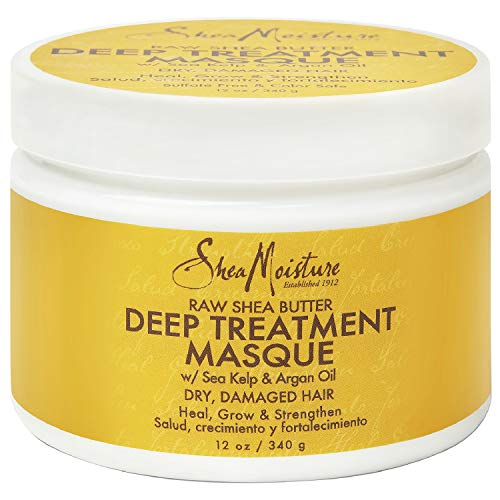 Sheamoisture Deep Treatment Masque for Dry, Damaged or Transitioning Hair Raw Shea Butter with Sea Kelp and Argan Oil 12...