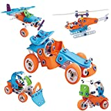 STEM Learning Toys for 6-8 Year Olds Boys & Girls. Building Toy Set, Construction Early Learning 132...