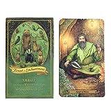 FENGHE Cartas de Tarot Nuevas 78 Hojas Bosque De Encantamiento Oracle Tarjeta De Amigos Partido Mesa Juego De Mesa Juego Cubierta