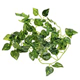 Kathson Artificial Scindapsus Vine for Reptiles...