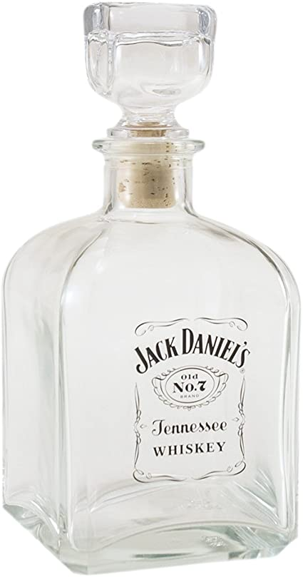 Details about  /Jack Daniels Glass Decanter