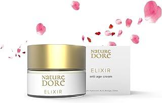 Crema Facial Hidratante con Ácido Hialurónico Puro de 3 Pesos Moleculares+ Agua de Rosa Bio Complejo Detox Cremas de Dia-N...