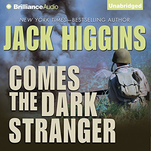 Comes the Dark Stranger audiobook cover art