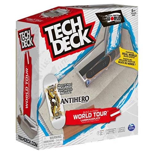 TECH DECK, Build-A-Park World Tour, Landhausplatz (Austria), Ramp Set with Antihero Classic White Eagle Signature Fingerboard