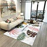 Alfombra Alfombra Infantiles Alfombra de diseño geométrico marrón Negro Rosa Antideslizante y fácil de Limpiar Alfombra Pelo Corto Salon alfombras Lavables 120*170CM