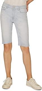 Sanctuary Womens Endless Summer Denim Bermuda Shorts, Size 28, Blue