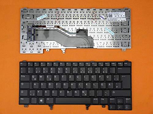DEUTSCHE - Tastatur Keyboard mit Mausstick, ohne Beleuchtung für Dell Latitude E6430