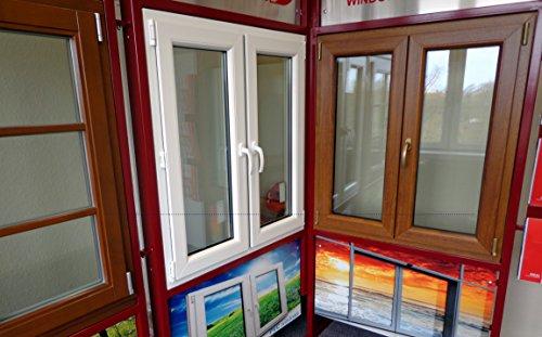 Kunststofffenster Gealan 8000 günstiges Fenster