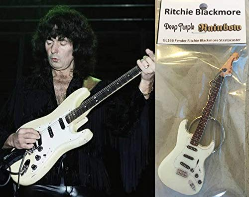 Schlüsselanhänger, Gitarre, Fender Ritchie Blackmore Stratocaster