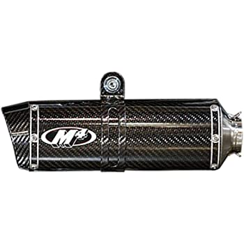 M4 X96 Carbon Slip-On Exhaust Carbon Fiber for 18 Kawasaki EX400ABS