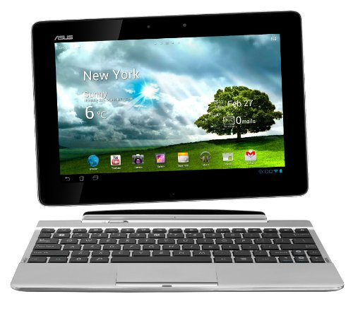 Asus Transformer Pad TF300TL 25,7 cm (10,1 Zoll) Convertible Tablet-PC (NVIDIA Tegra 3, 1,2GHz, 1GB RAM, 32GB eMMC, LTE, Touchscreen, Android 4.0) inkl. KeyDock weiß