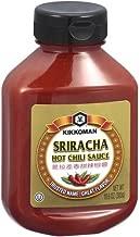Kikkoman Sauce Chili Hot Sriracha, 10.6 oz