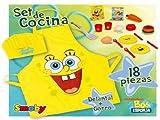 Bob Esponja 24669 - Set Cocinero + Accesorios (Smoby)