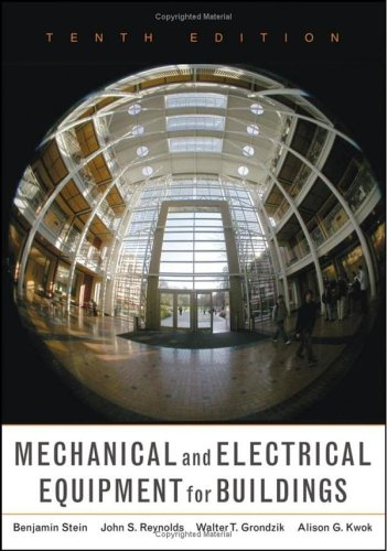 Mechanical and Electrical Equipment for Buildings, 10th...