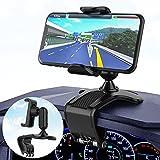 Porta Cellulare da Auto,360 Gradi di Rotazione Supporto Cellulare Auto,Universale Porta Cellulare Auto con Clip a Molla,Compatibile con iPhone Samsung Huawei Xiaomi LG GPS Dispositivi